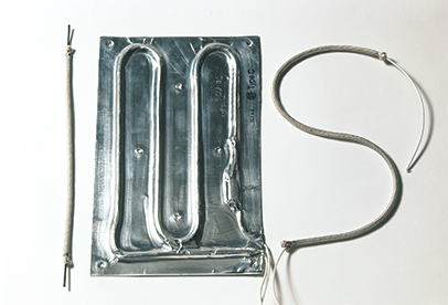 Glasrope and foil Heaters