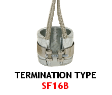 Band Heater Termination Type SF16B