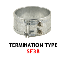 Band Heater Termination Type SF3B
